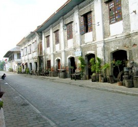 Vigan Spanish houses